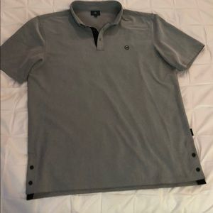 Men's AG Green Label shirt gray XL never worn